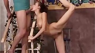 sexy video: Premature hardcore sex with a young girl