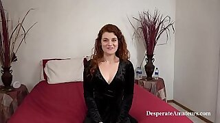 sexy video: Amateur redhead babe getting fucked in her little epia