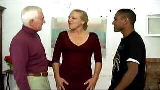 sexy video: Porn scenes of antsy interracial Manonny and Jerry, two mature
