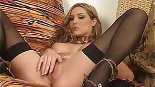 sexy video: KELLY WARN IN STOCK UP TWO BIG DICKS