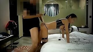 sexy video: Asian chick fucked in different positions