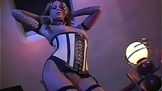 sexy video: In the Rest Room In The Stockings