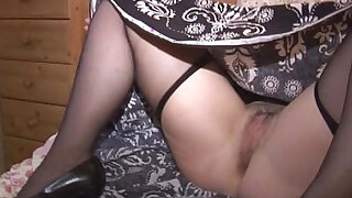 sexy video: Mature JR strips ... slowly!!