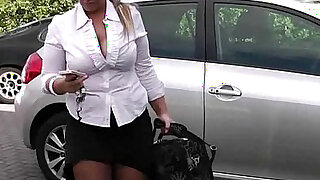 sexy video: He lures hot looking plumper into sex