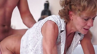 sexy video: Sensual Hairy Granny Madie Mccrea