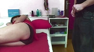 sexy video: Jerking Stepson Caught And Fucked By Mom