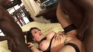 sexy video: Sheila Stone italian milf pornostar and black guys. Directed by Roby Bianchi