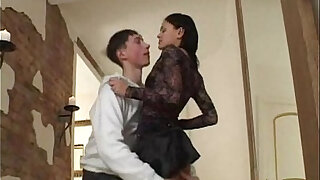 sexy video: Brother fuck his sister in hallway