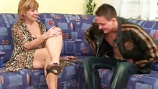 sexy video: Granny claims a daily cum load will slow her ageing process