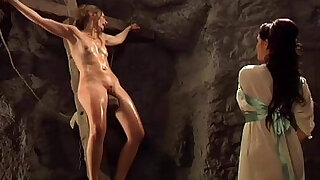 sexy video: Mistress Strapon To Two Slaves
