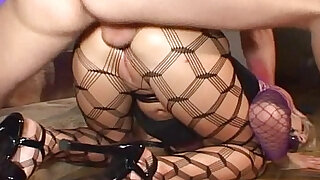 sexy video: Sex slave in pantyhose