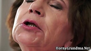 sexy video: Interracial Handjobs For Granny