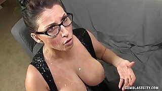 sexy video: MILF Kristen is a young girl blowjob